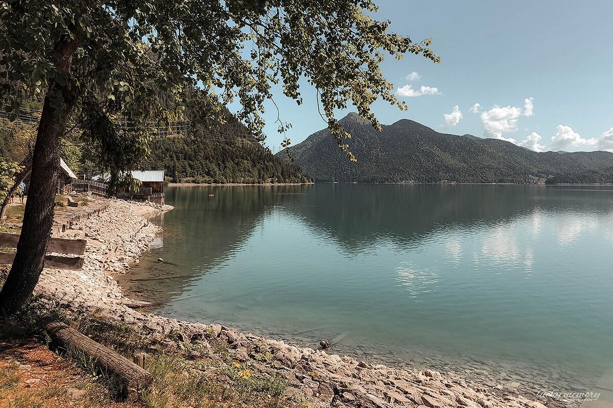 Familienfotografie am Walchensee