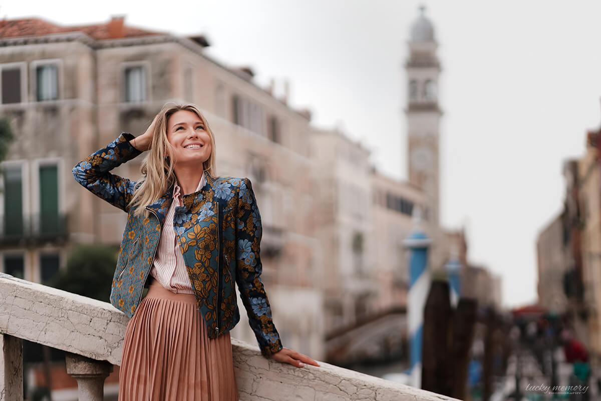 Portrait Fotos Venedig Italien
