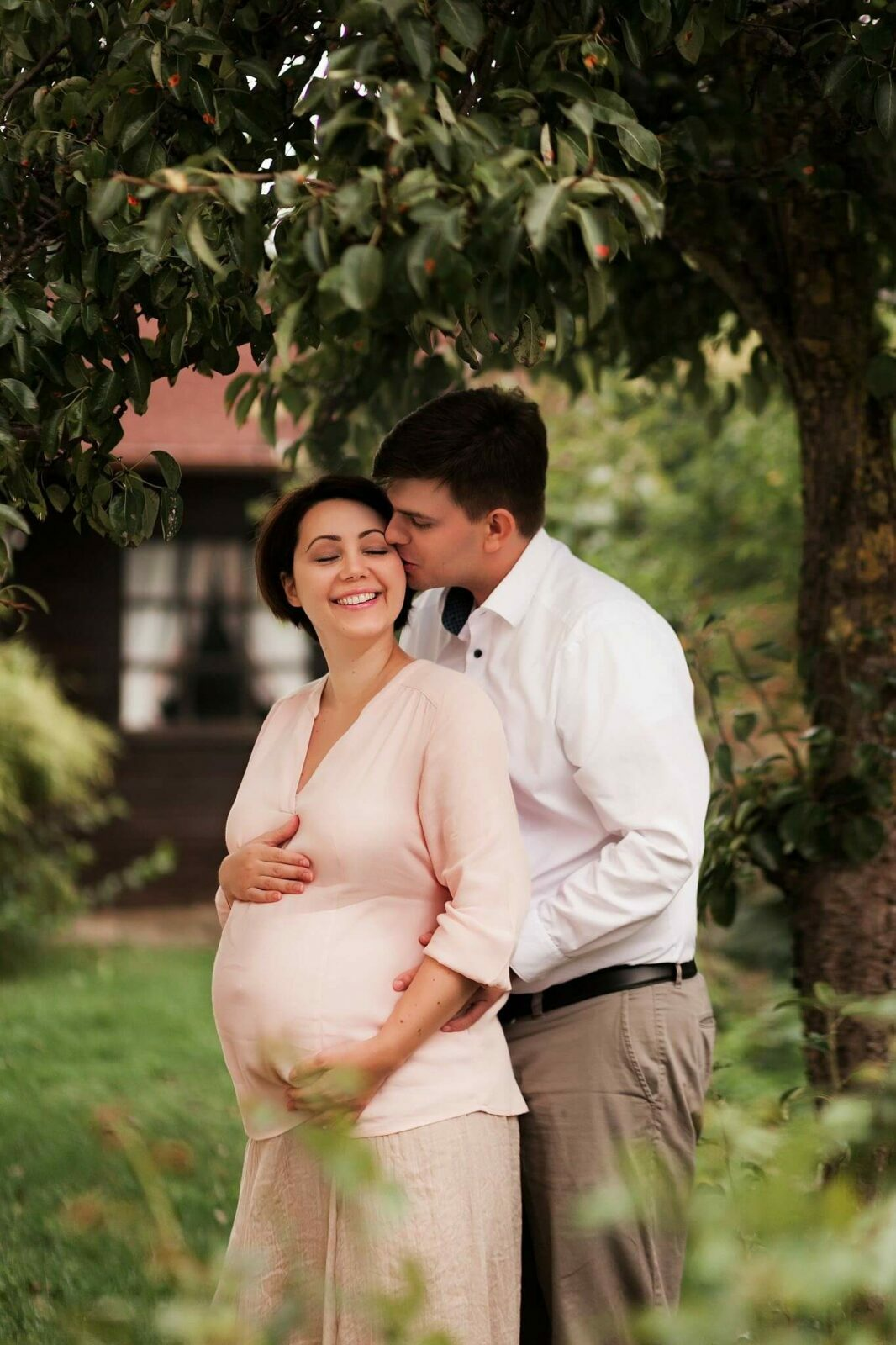 Outdoor Schwangerschaftsfotografie in munchen
