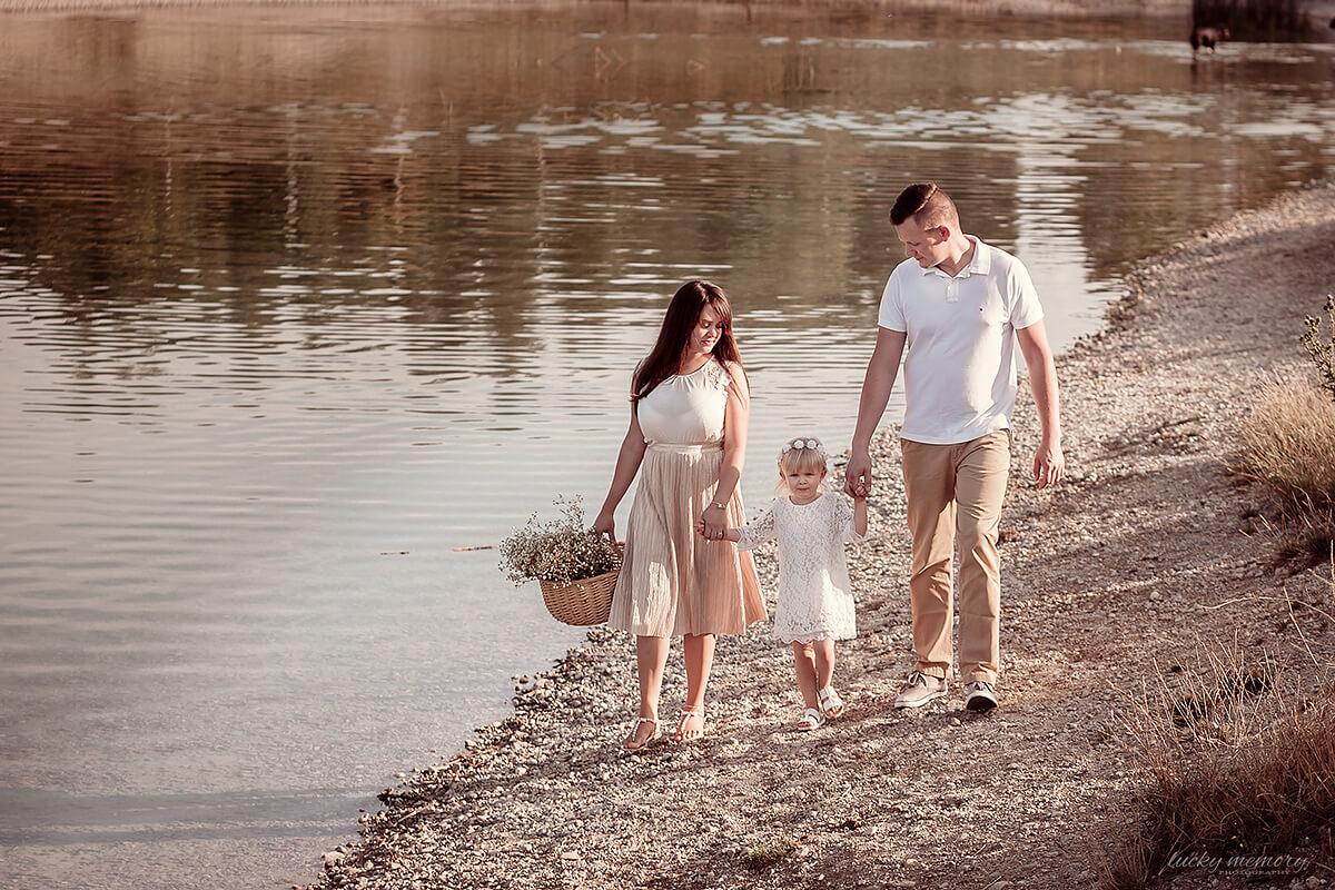 Familienfotoshooting in der Natur Landshut