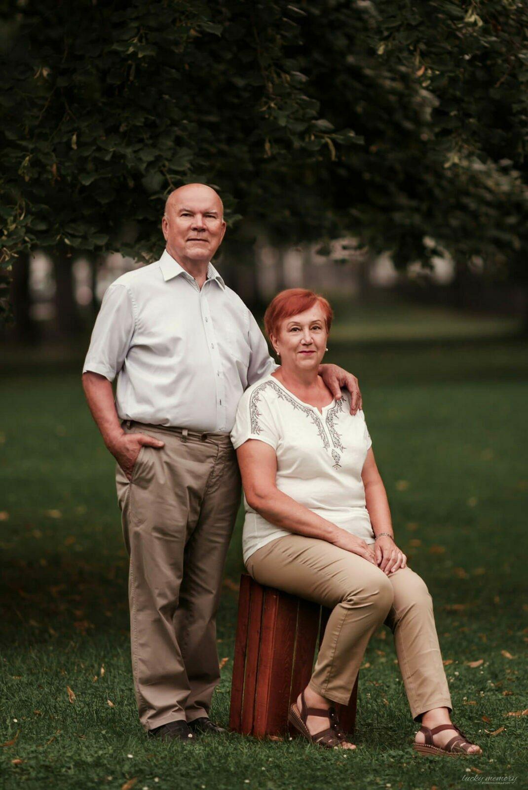 Großeltern Fotoshooting München