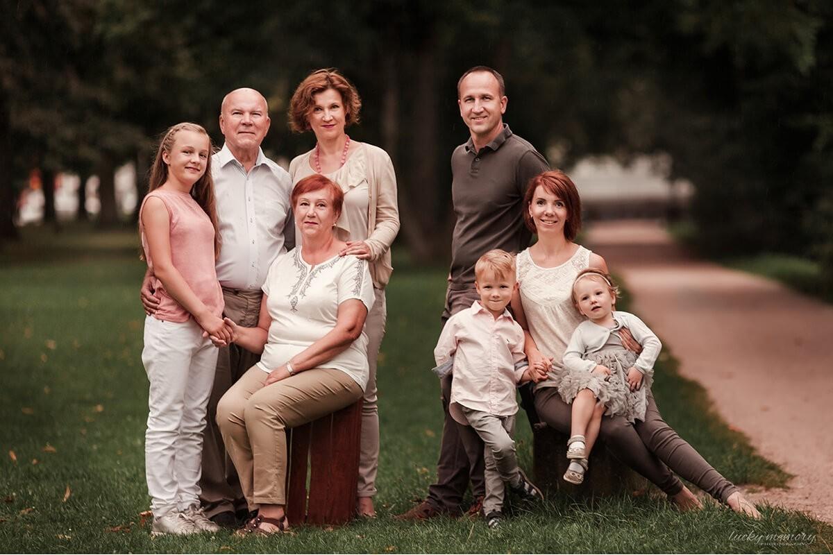 Großfamilienfotoshooting München