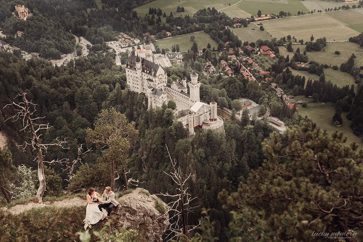 Hochzeitsfotograf München Schwangau Neuschwanstein