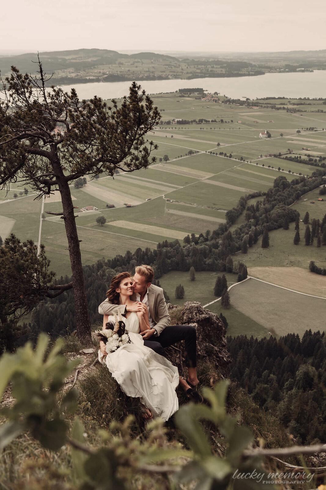 Hochzeitsfotografie München Alpen