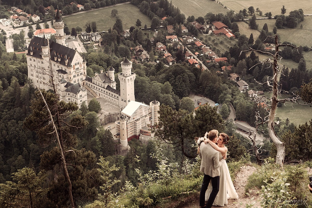 wedding Neuschwanstein Castle