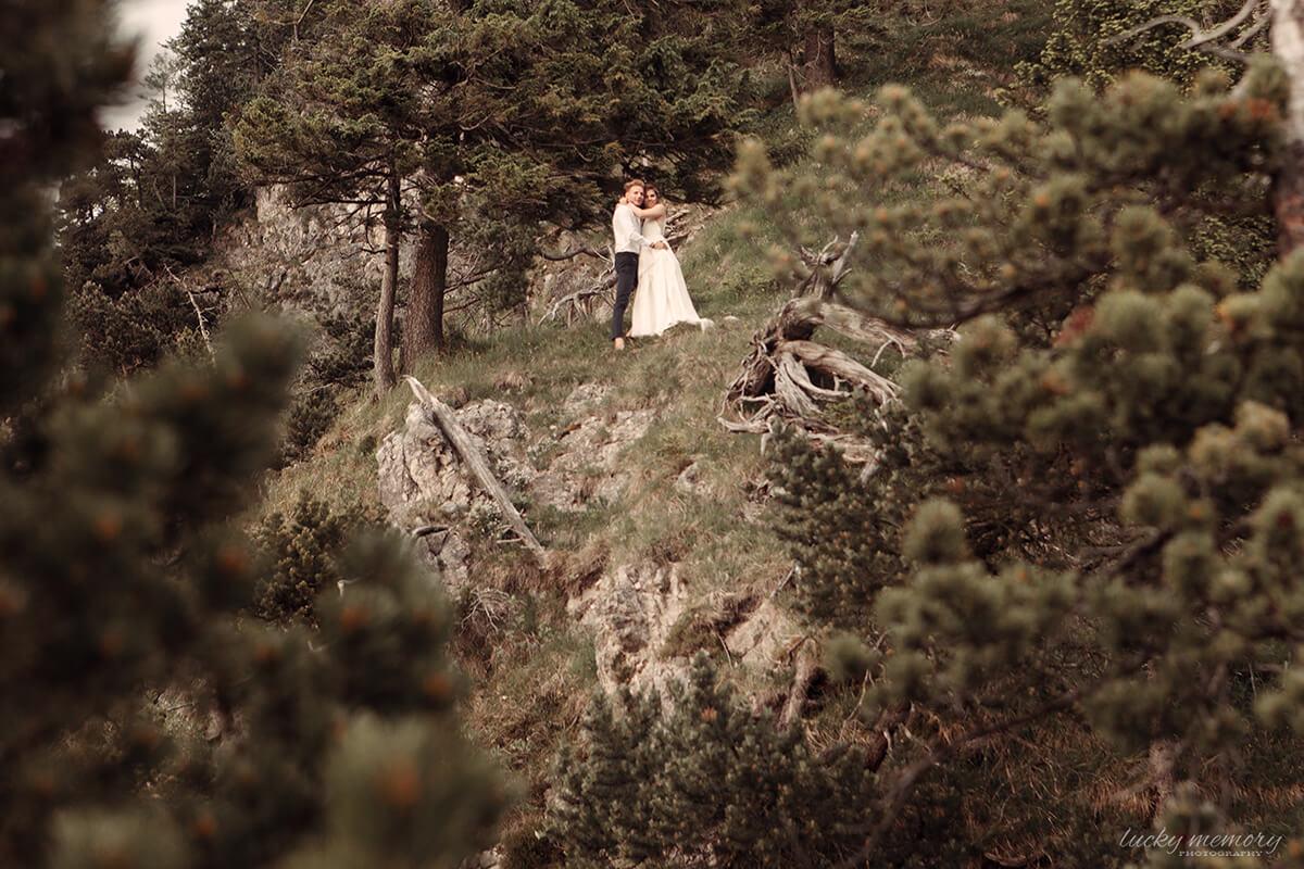 Natürliche Hochzeitsfotografie München