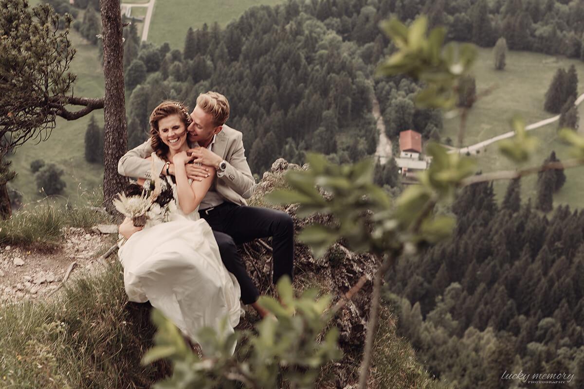 Emotionale Hochzeitfotografie München