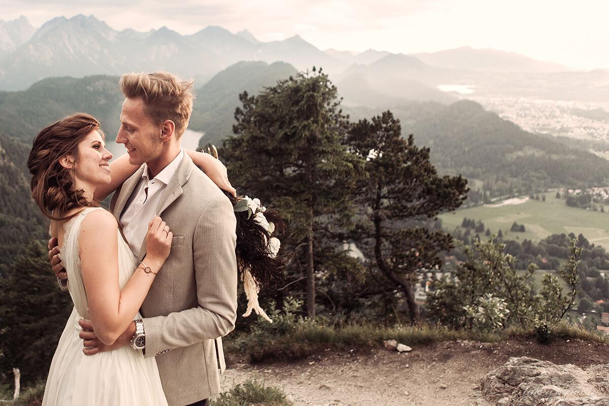 Gefühlsvolle Hochzeitfotografie München