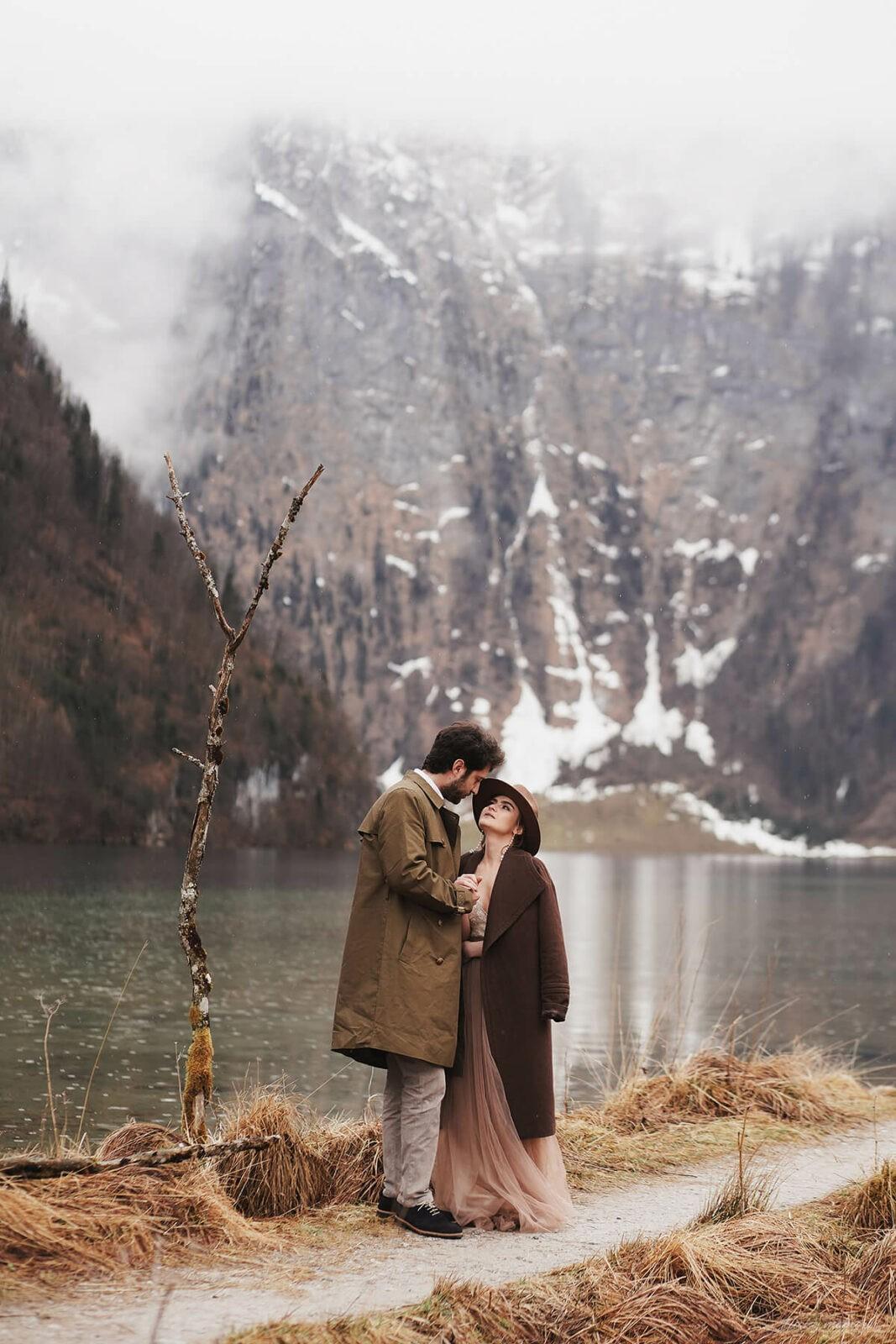 Pärchen-Fotoshooting mit Hochzeitsfotograf München