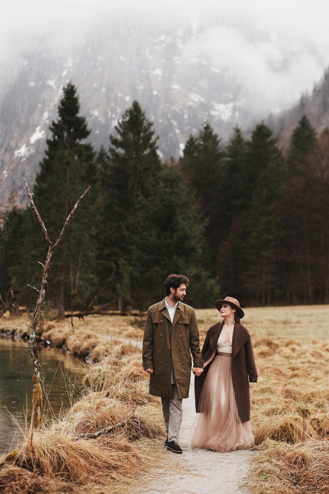 Love Story mit Hochzeitfotograf München