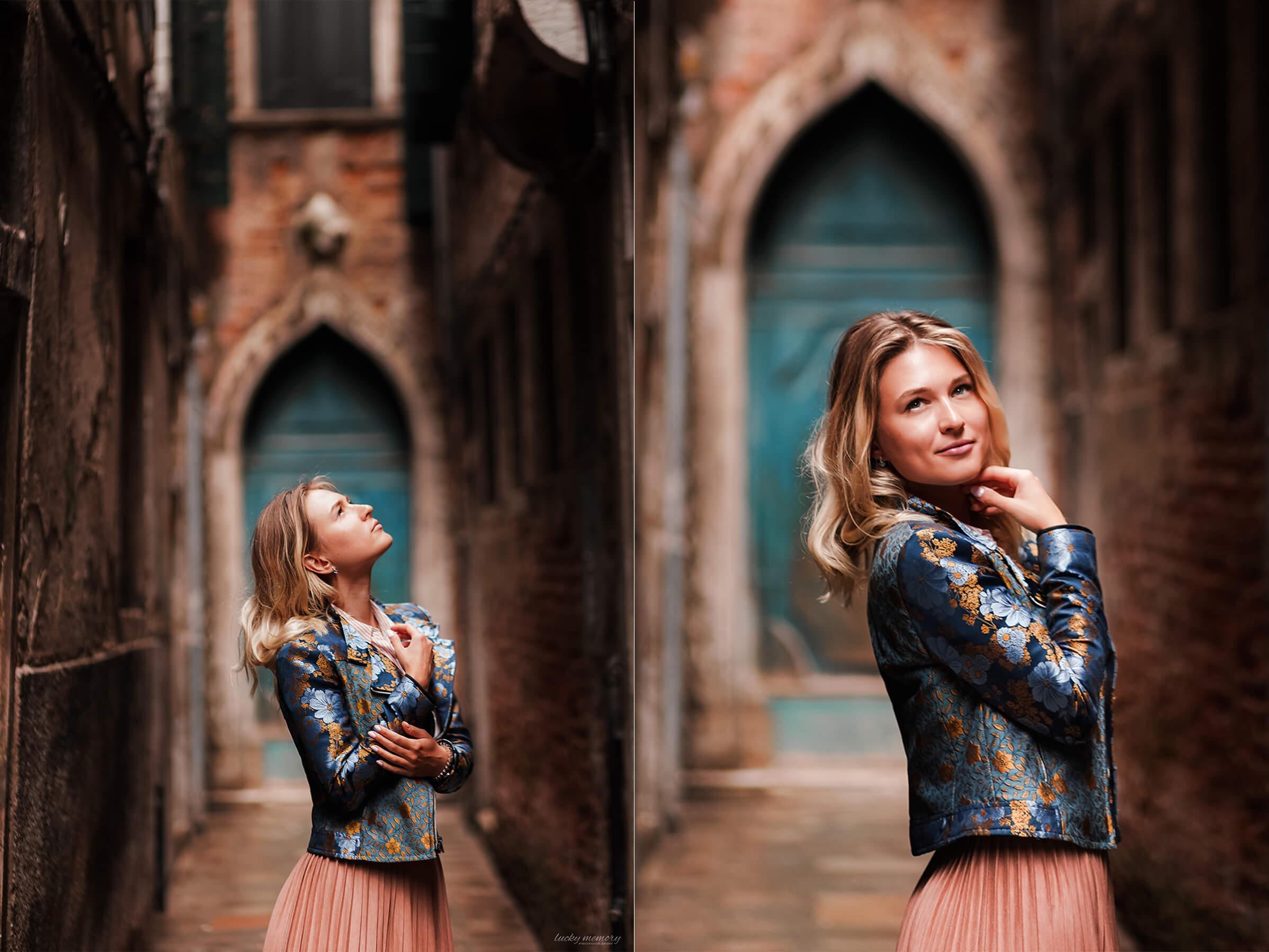 Portrait Fotoshooting Venedig