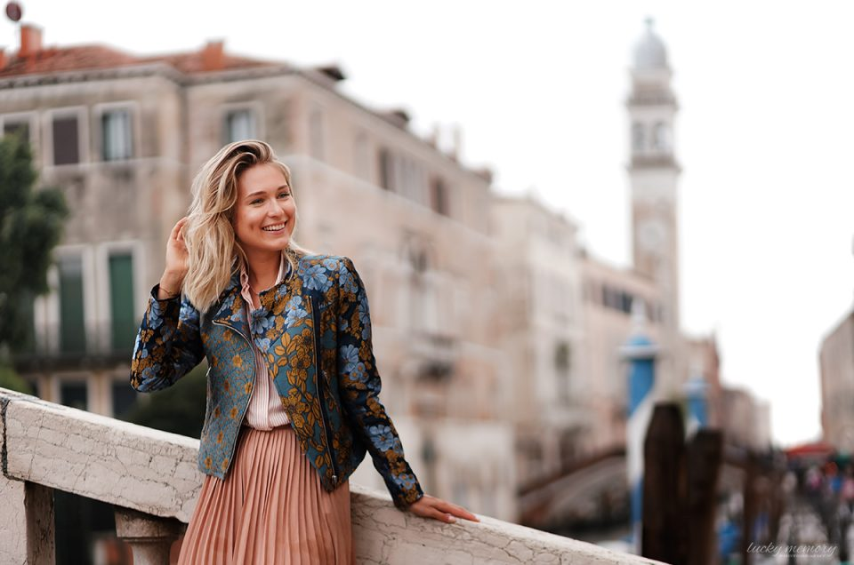 Portrait Fotoshooting Venedig - Destination Fotograf München
