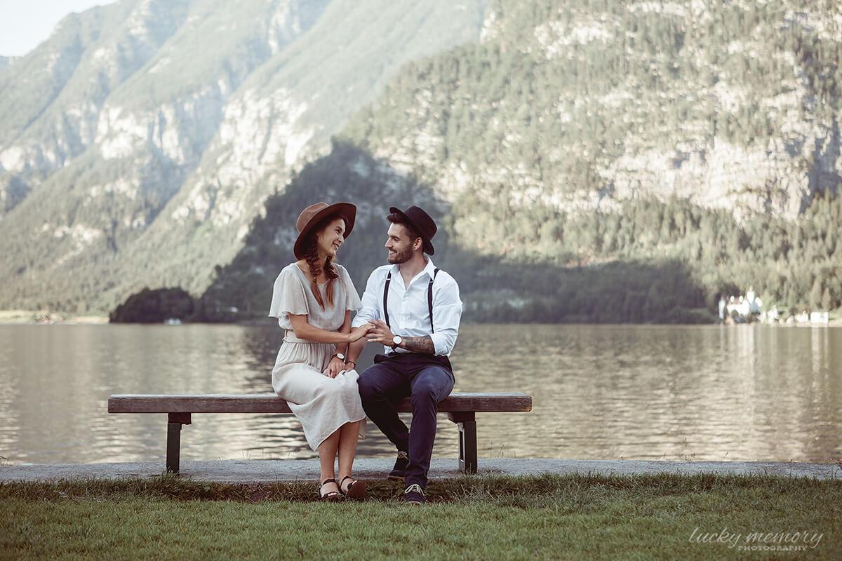 Love Story Fotografie in Alpen Österreich