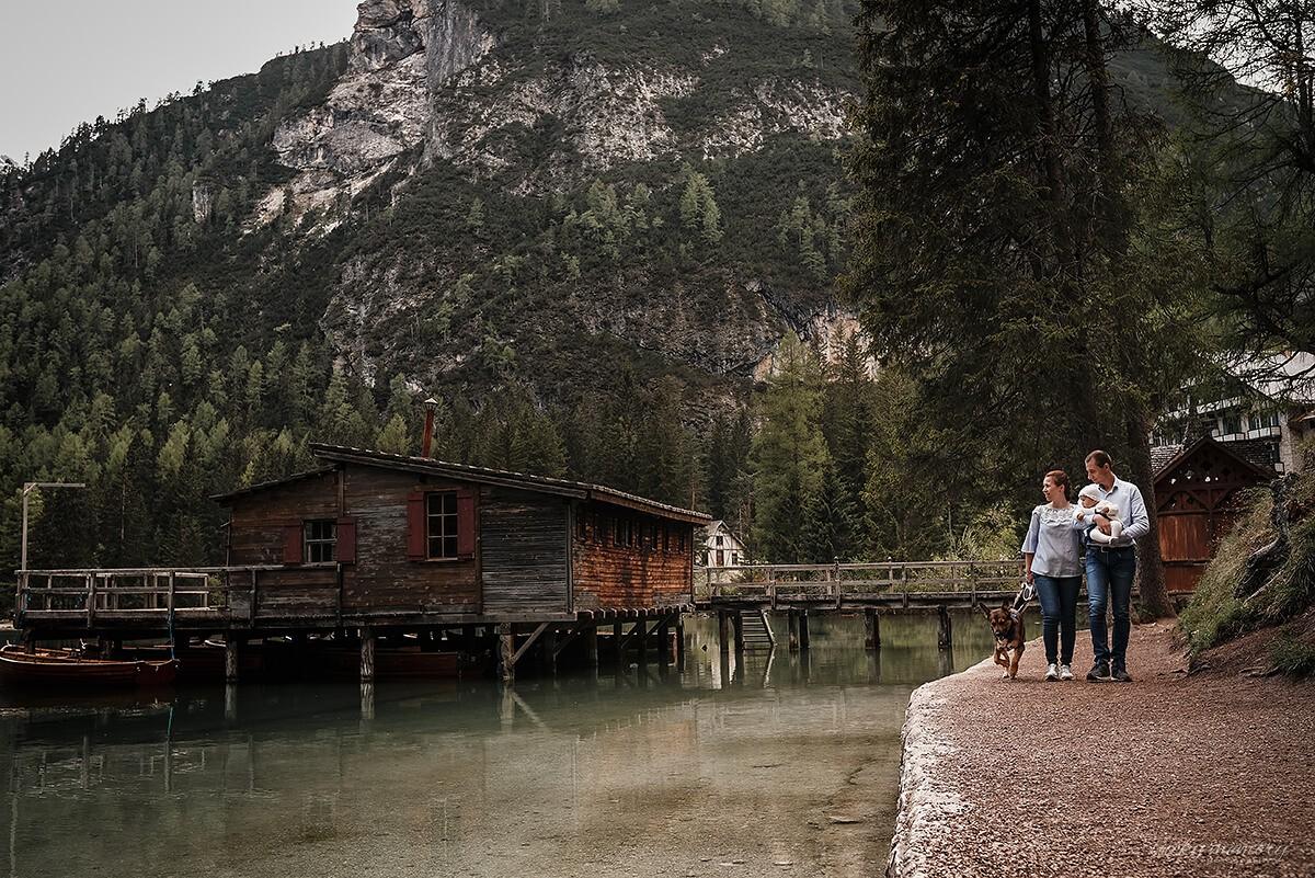 Familienausflug in Italien mit Familienfotograf München