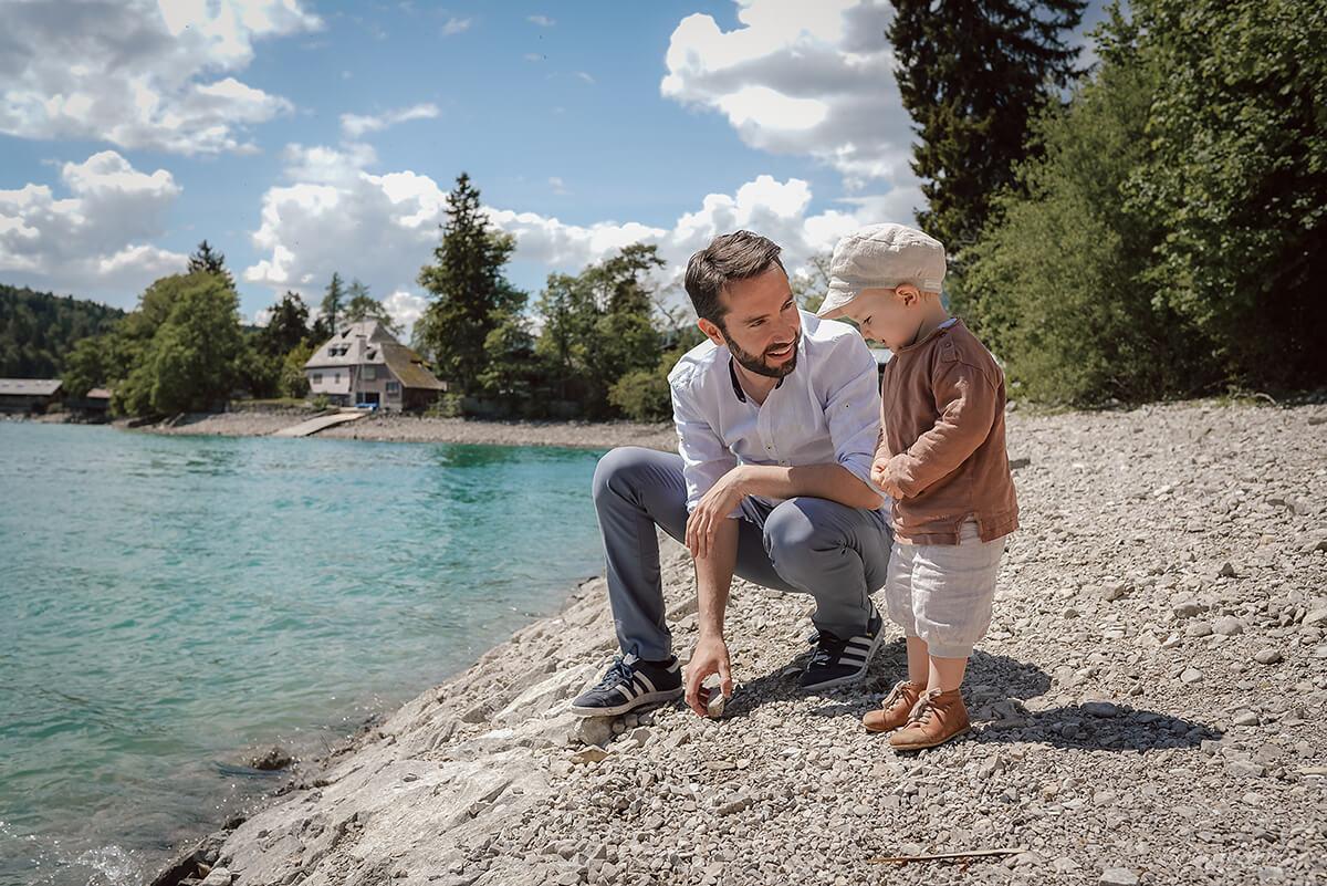 Familienfotograf Vater Sohn