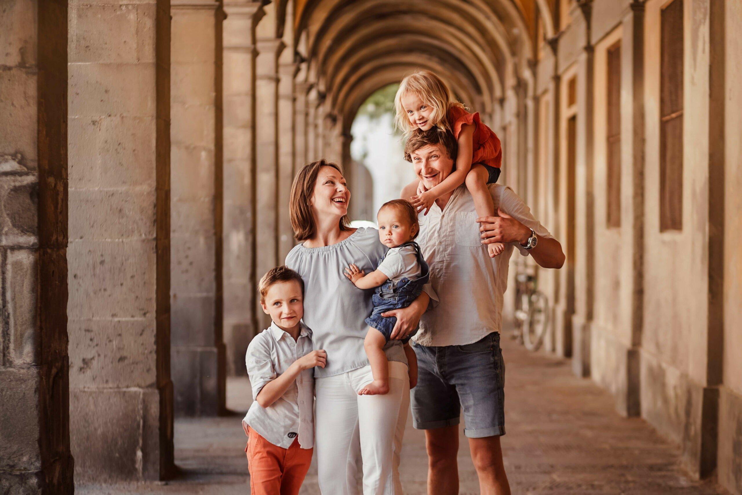 Familien Fotoshooting in Italien Ausland