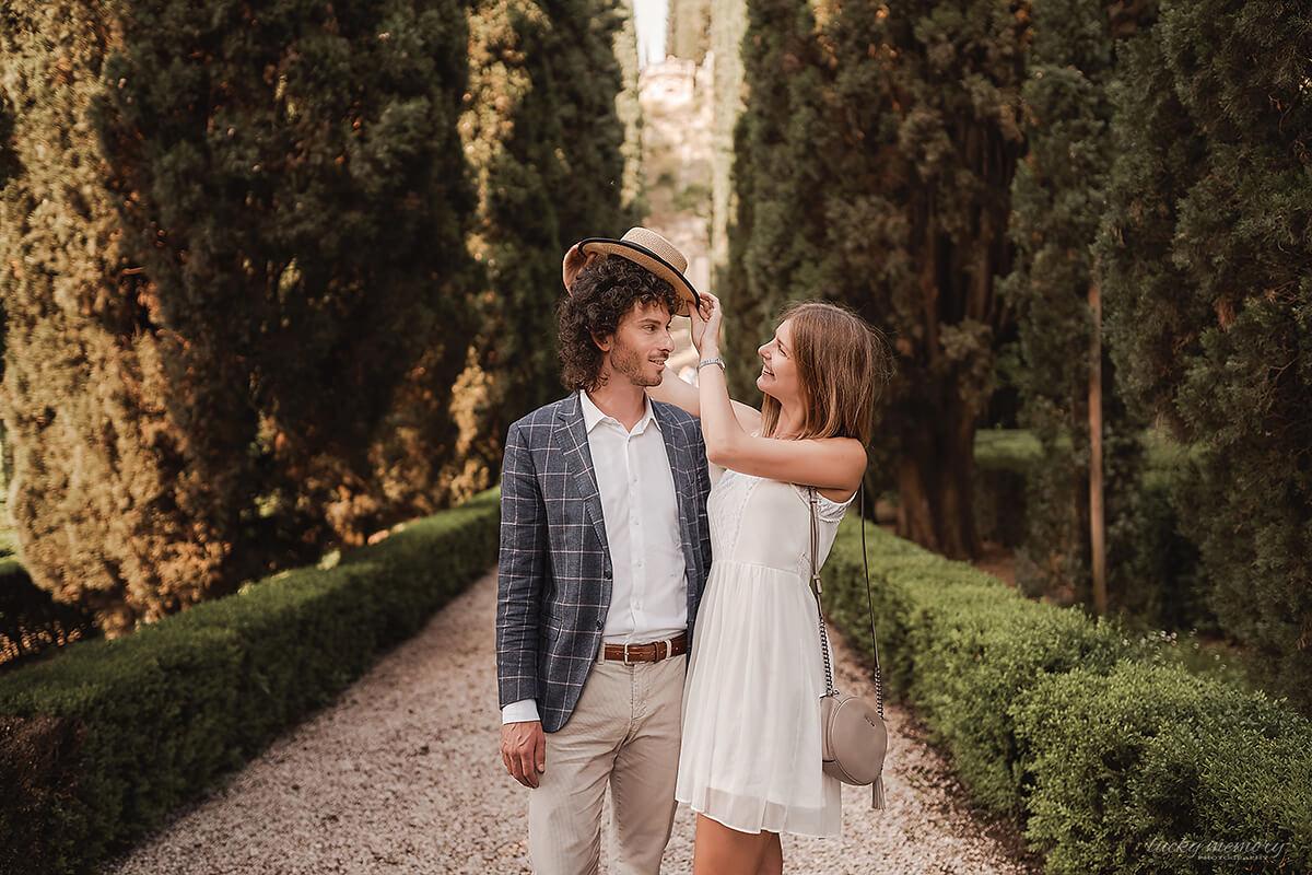 Romantische Lovestory im Ausland