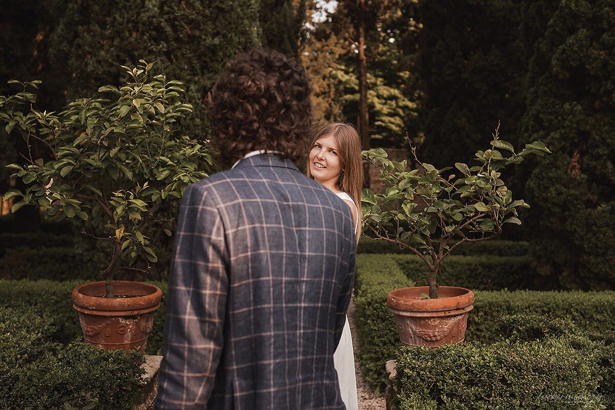 Lovestory Pärchen Fotoshooting in Verona Italien