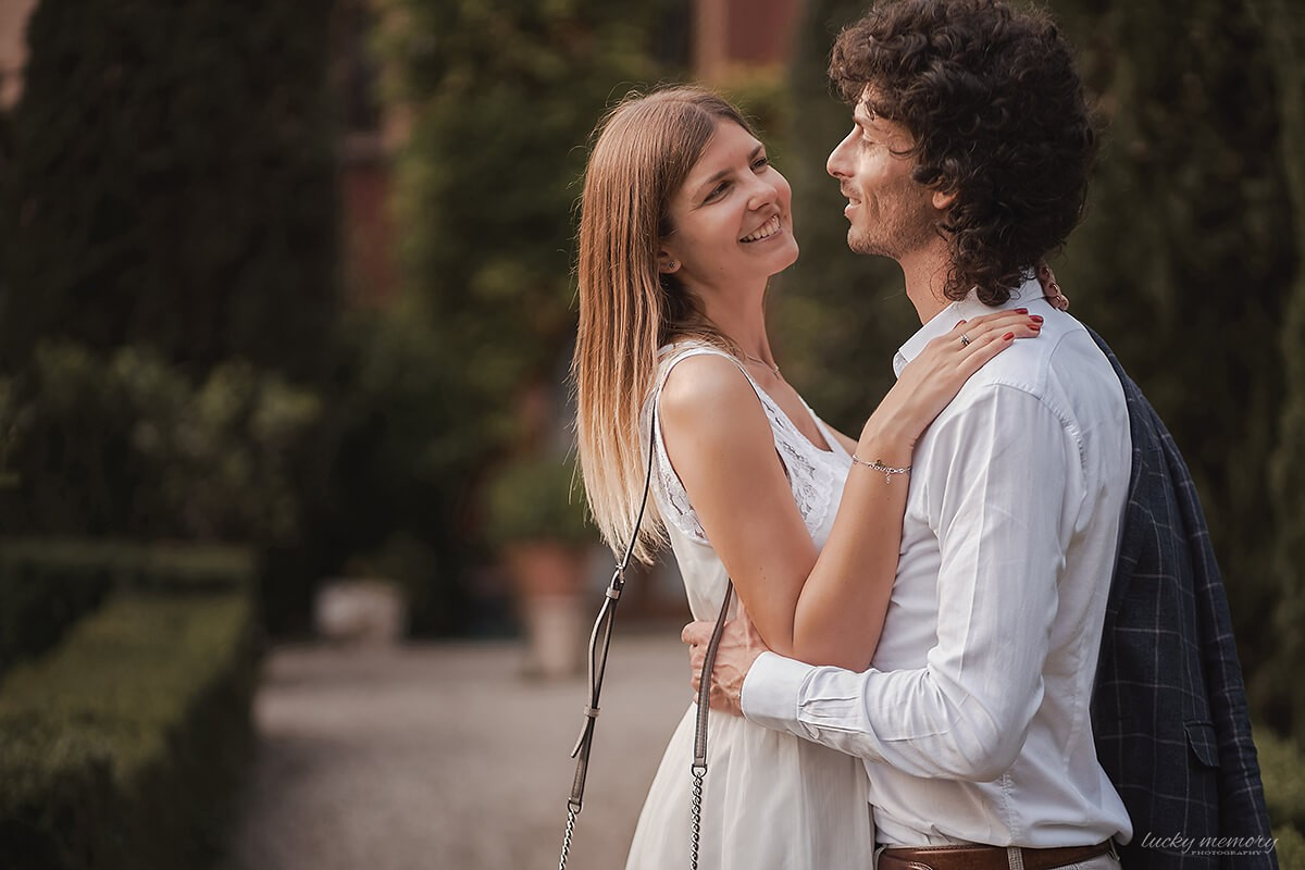 Hochzeitsfotograf im Ausland Italien