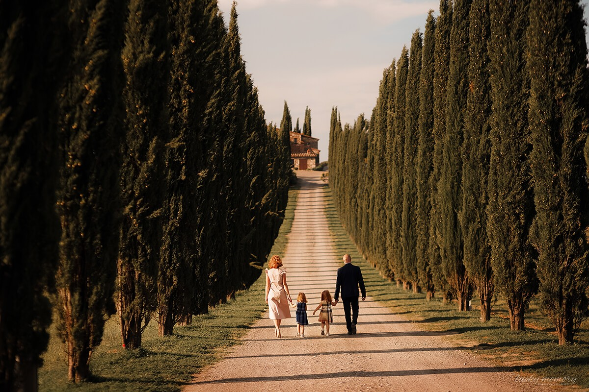 Familien Fotografie im Ausland
