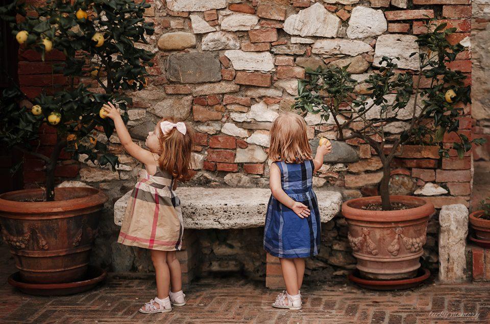 Kinderfotoshooting im Ausland