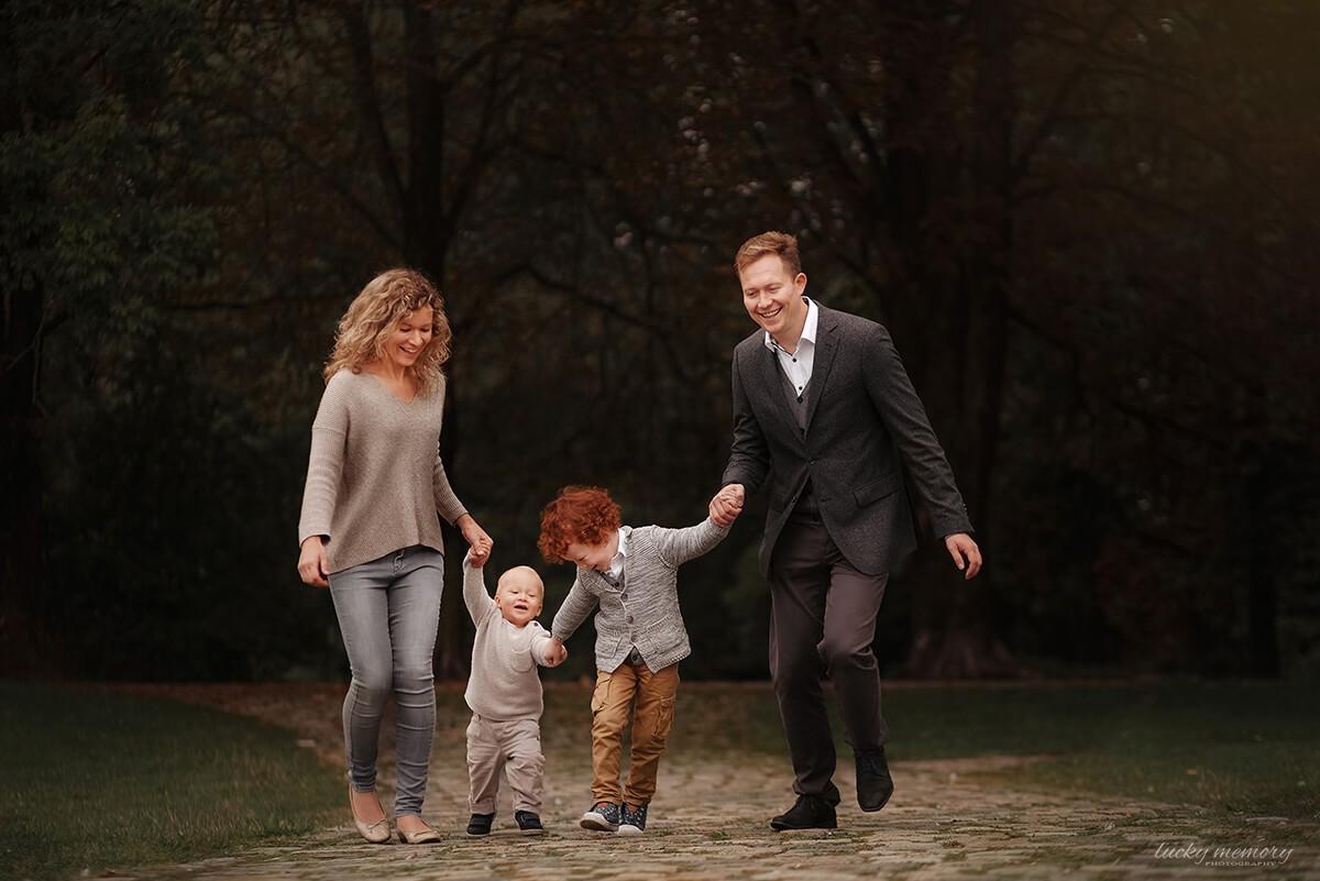 Outdoor Familienfotoshooting München