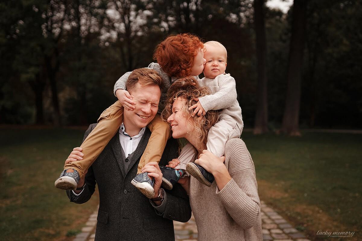 Emotionale Familienfotoshooting München