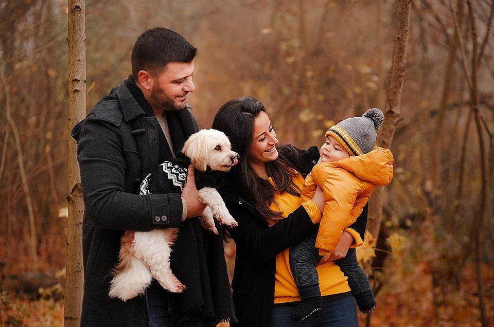 Herbstliches Familien Fotoshooting München