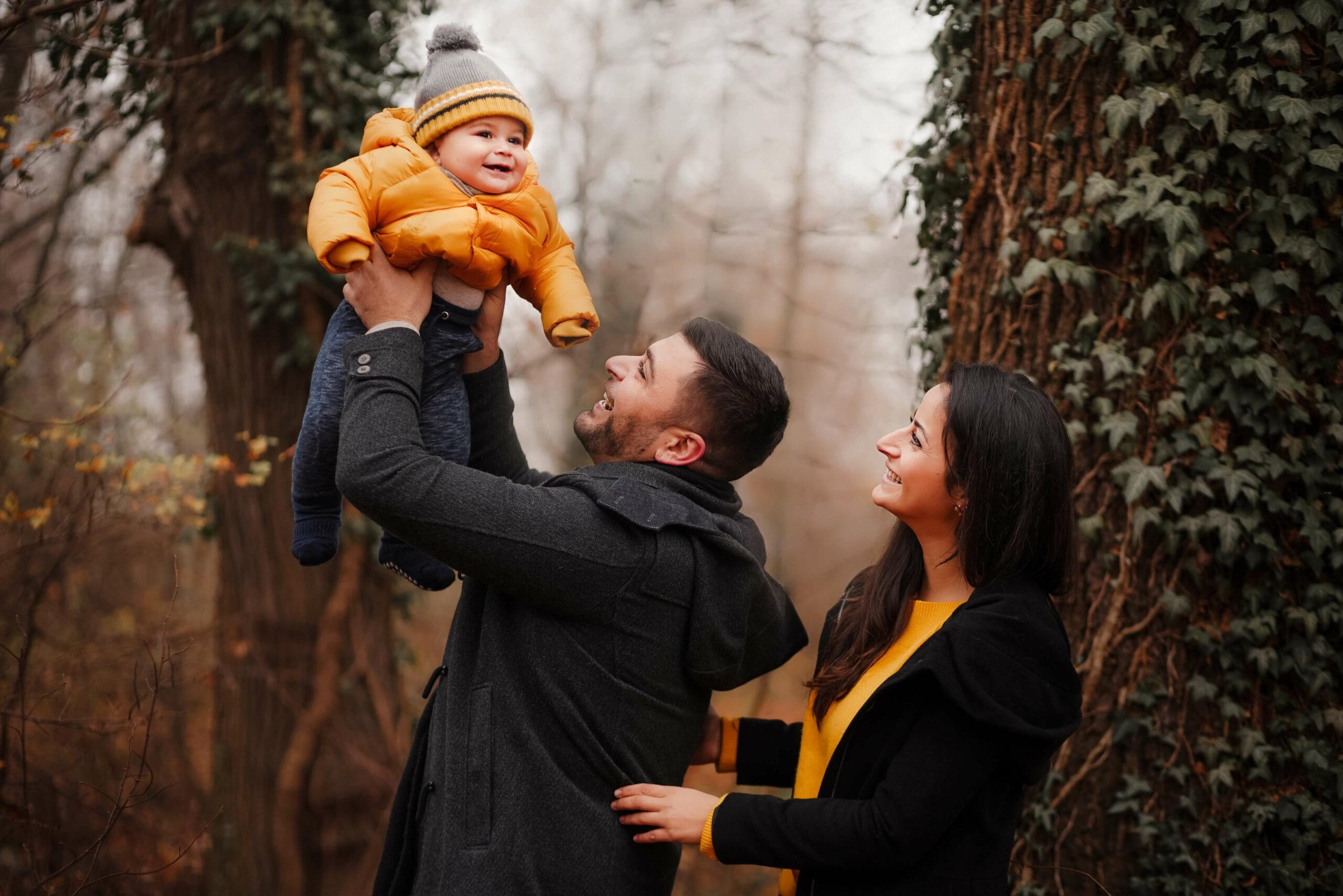 Familien Fotoshooting in München