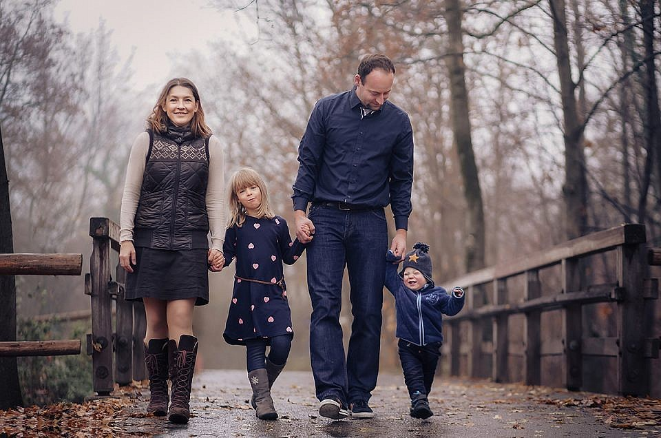 Outdoor Familien Shooting Munchen - Familienfotograf München