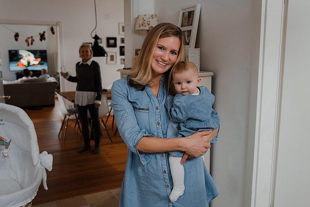 Familien Fotoshooting mit Baby in München