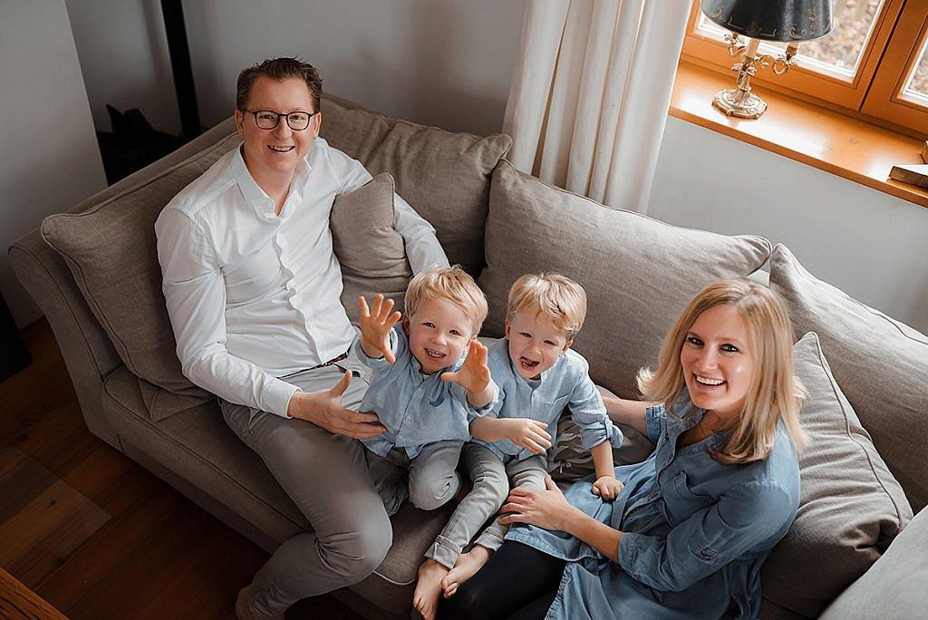 Lifestyle Familien Fotografie München