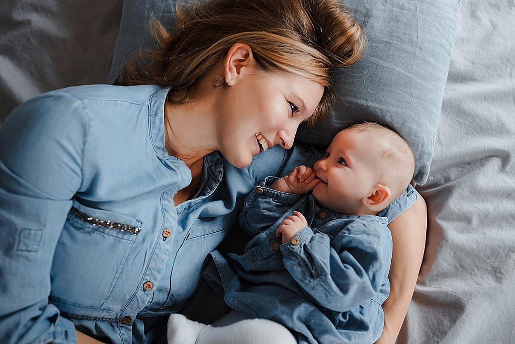 Lifestyle Babyfotoshooting München