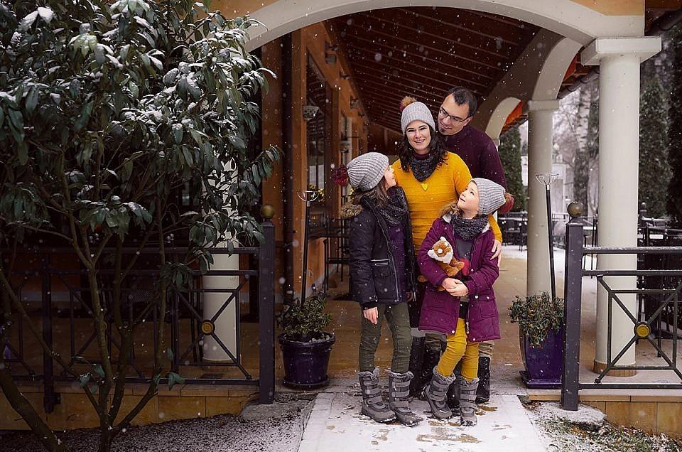 winter familien fotoshooting münchen
