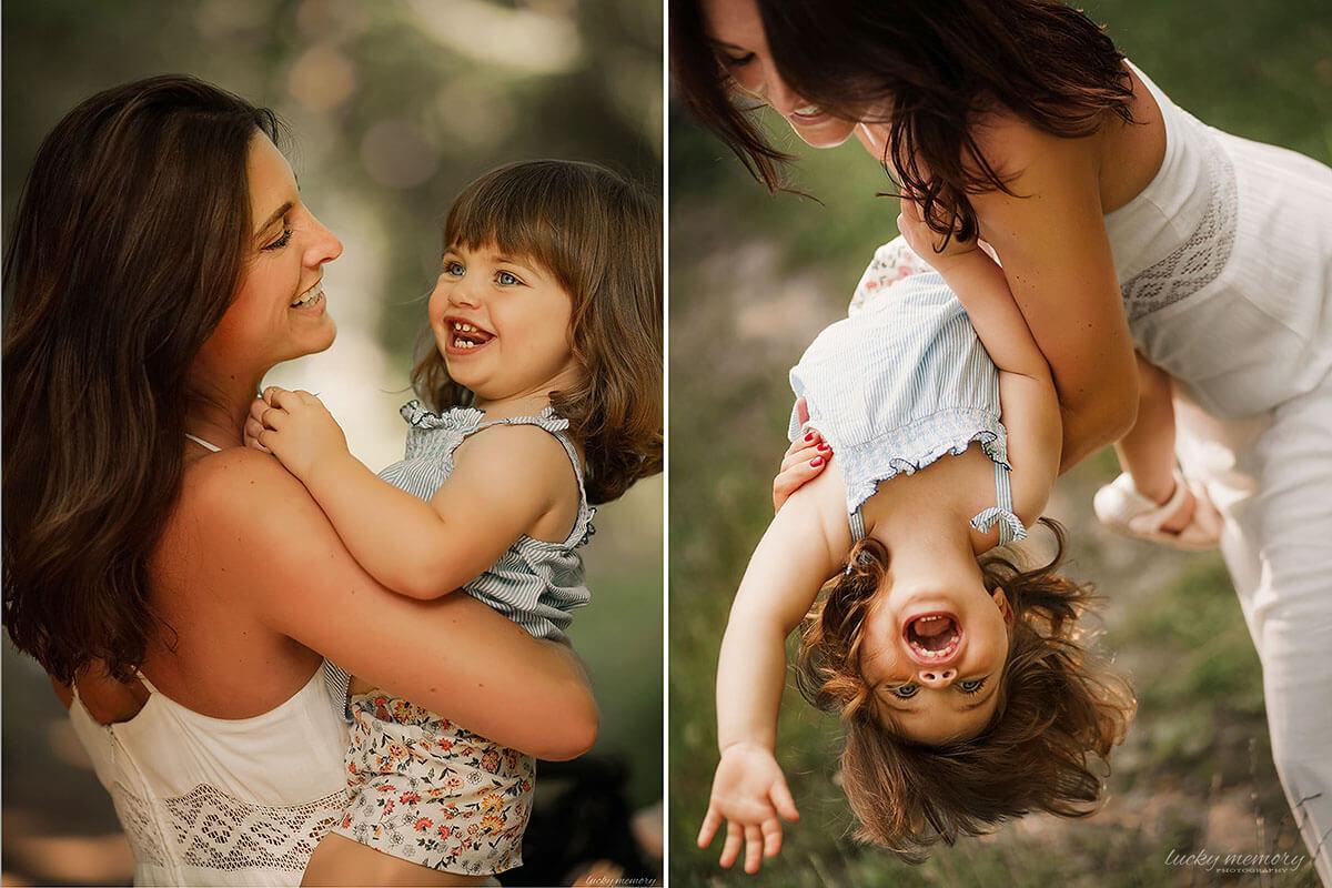 Mutter Tochter Fotoshooting München