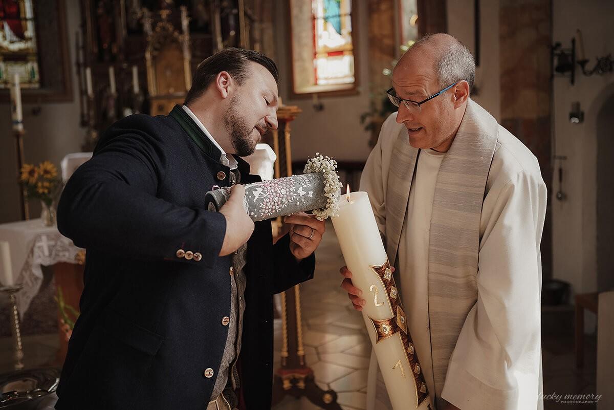 Taufe von Fotograf Gründwald