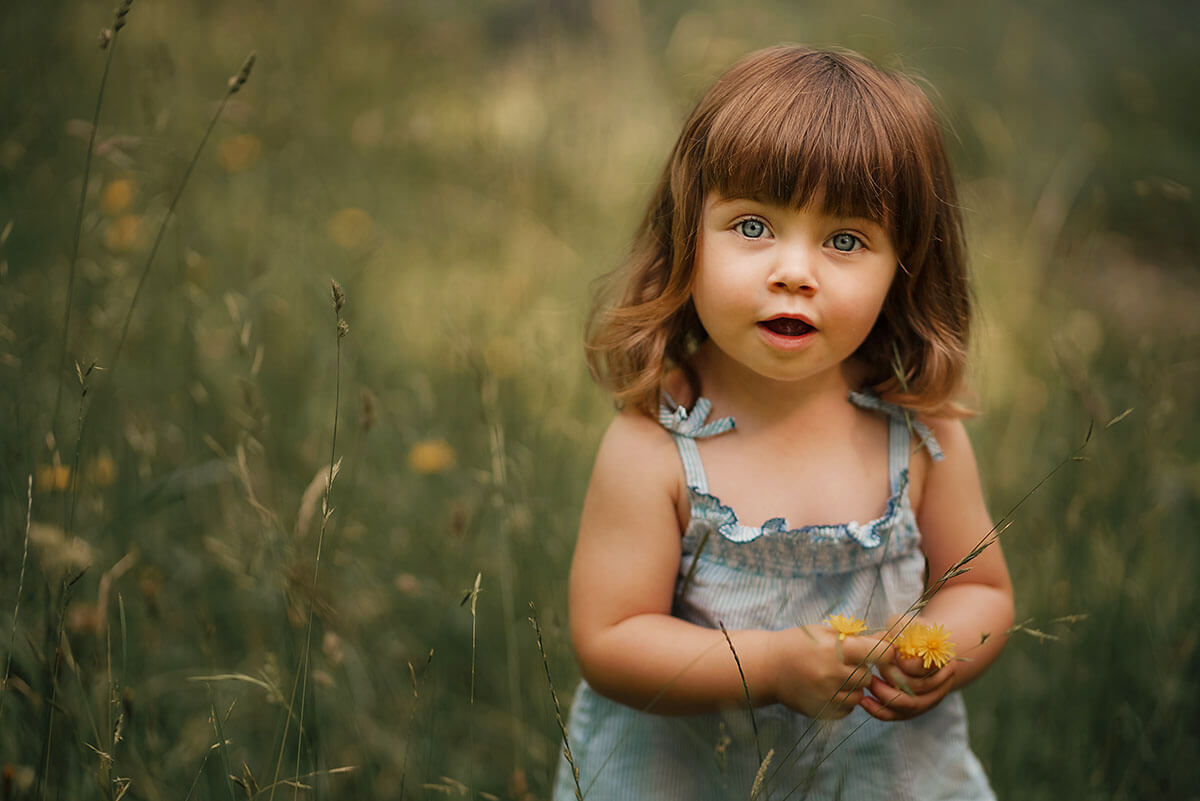 Outdoor Kinderfotoshooting mit Kinderfotograf München