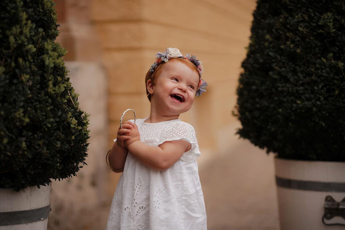 Kinderfotografie in der Natur mit Fotograf München