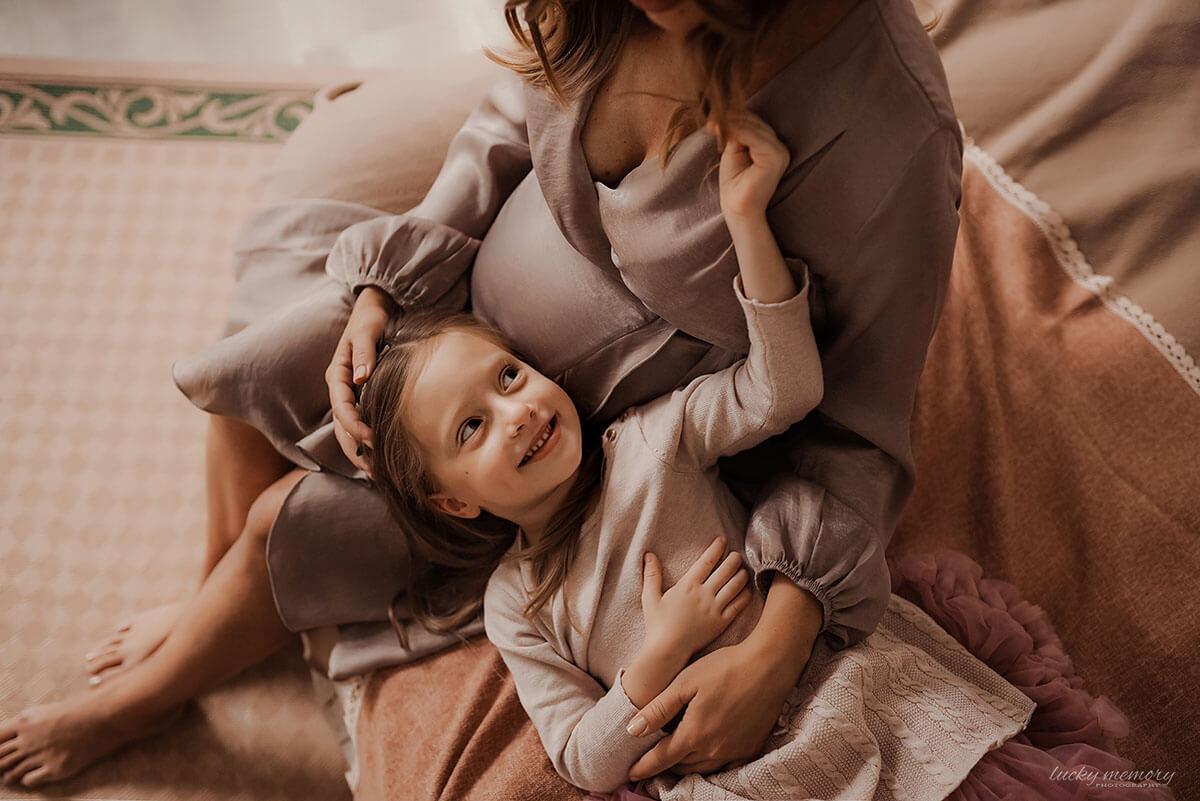 Schwangerschaftsfotos beim Fotoshooting München