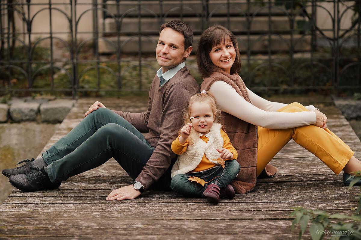 Outdoor Fotoshooting mit Familien