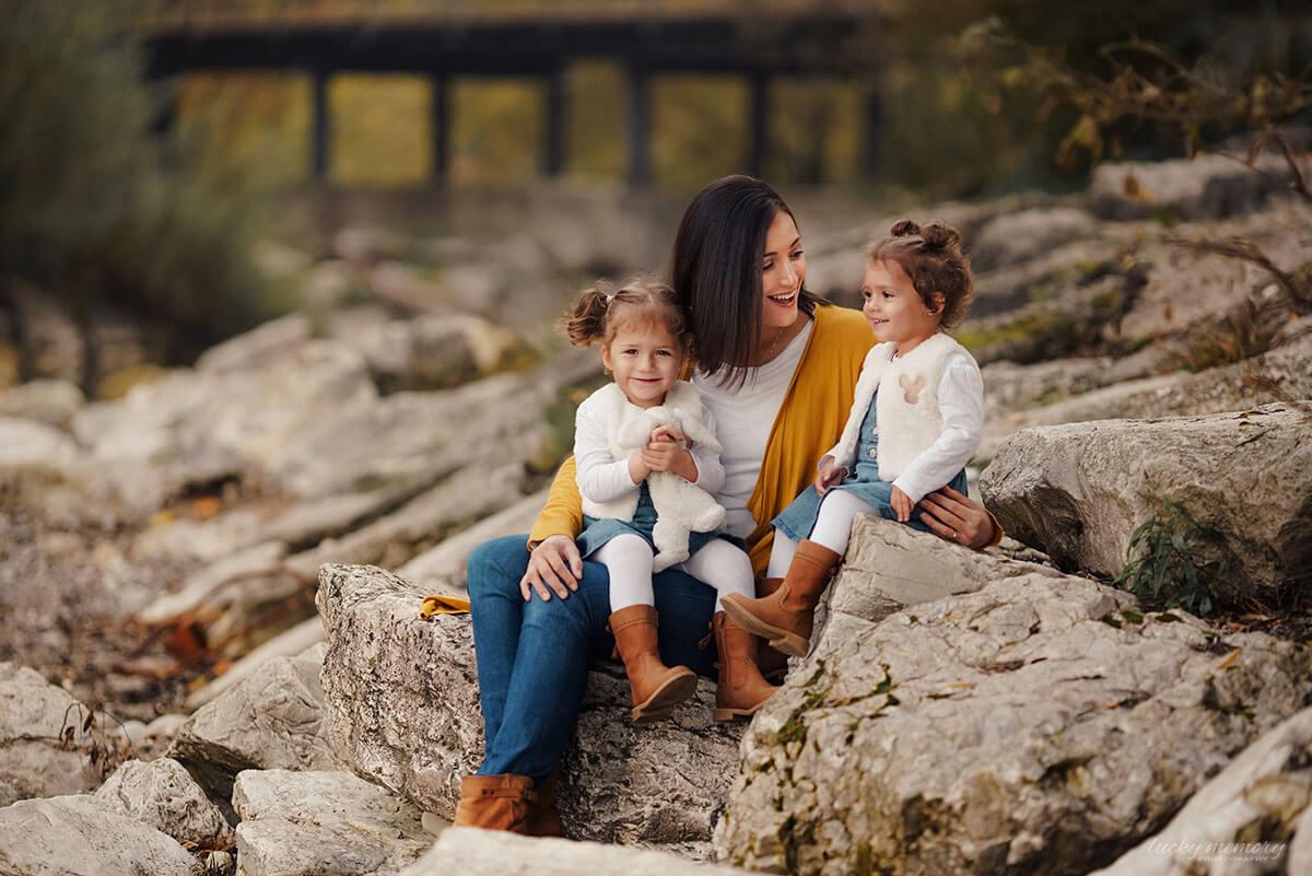 Mama Kind Fotos mit Familienfotograf München