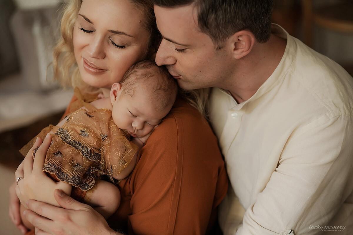 Neugeborenen Baby Fotoshooting München