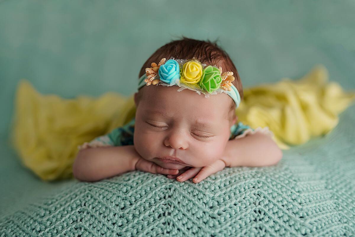 Neugeborenen Shooting mit Baby Fotograf münchen