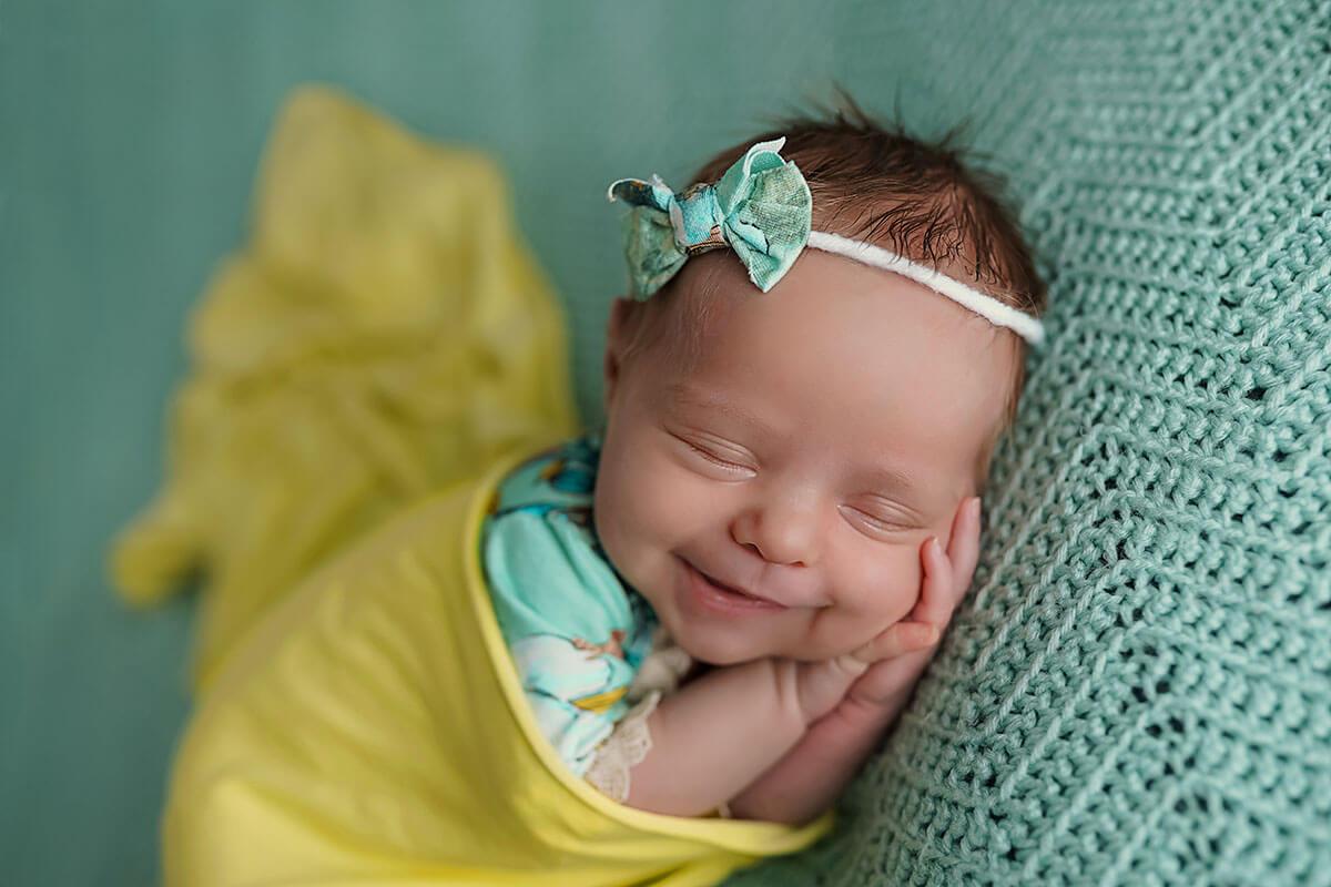Neugeborenenfotos bei Baby Fotoshooting