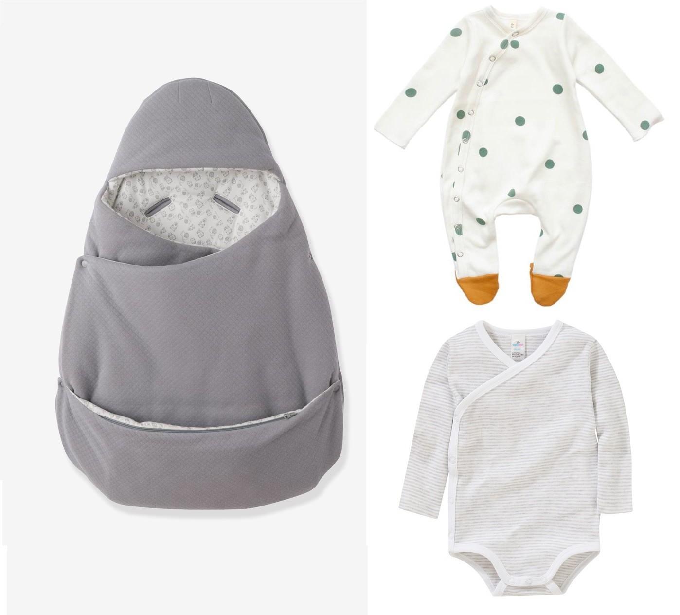 Was zieht man dem Baby für Neugeborenen Shooting an
